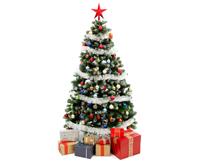 丙纶纤维/PP纱应用于圣诞树